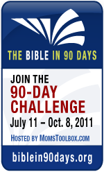 Bible in 90 Days {Week 11}
