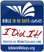 Bible in 90 Days {Finish}