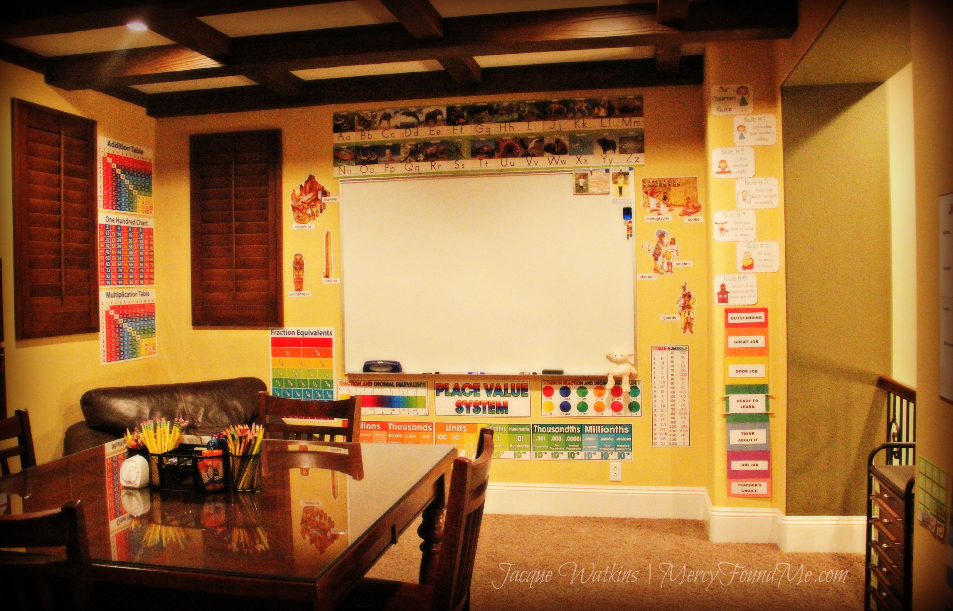 Our Homeschool Classrooom {2012-2013}