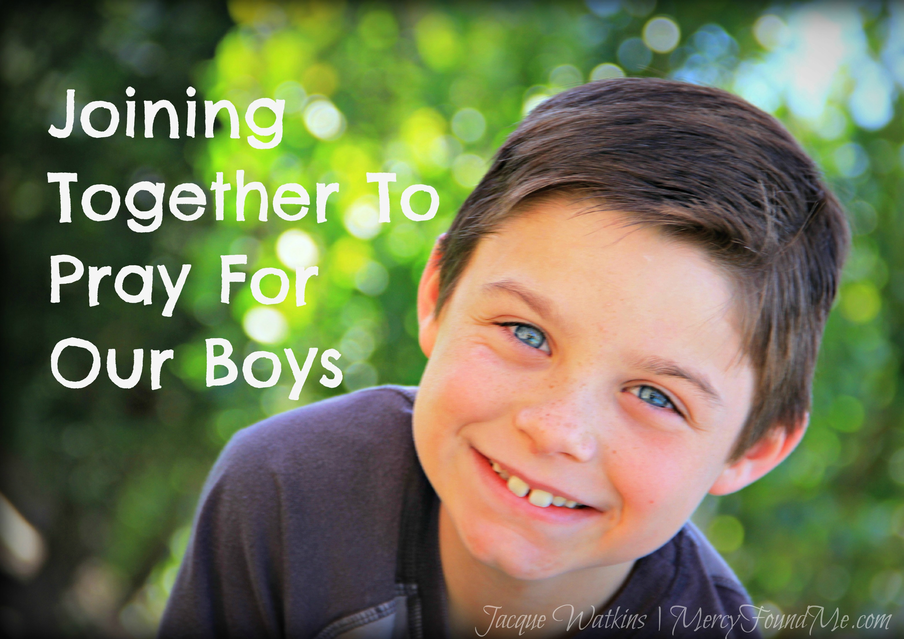 Why We Need to Pray for Our Boys and Their Future Wives
