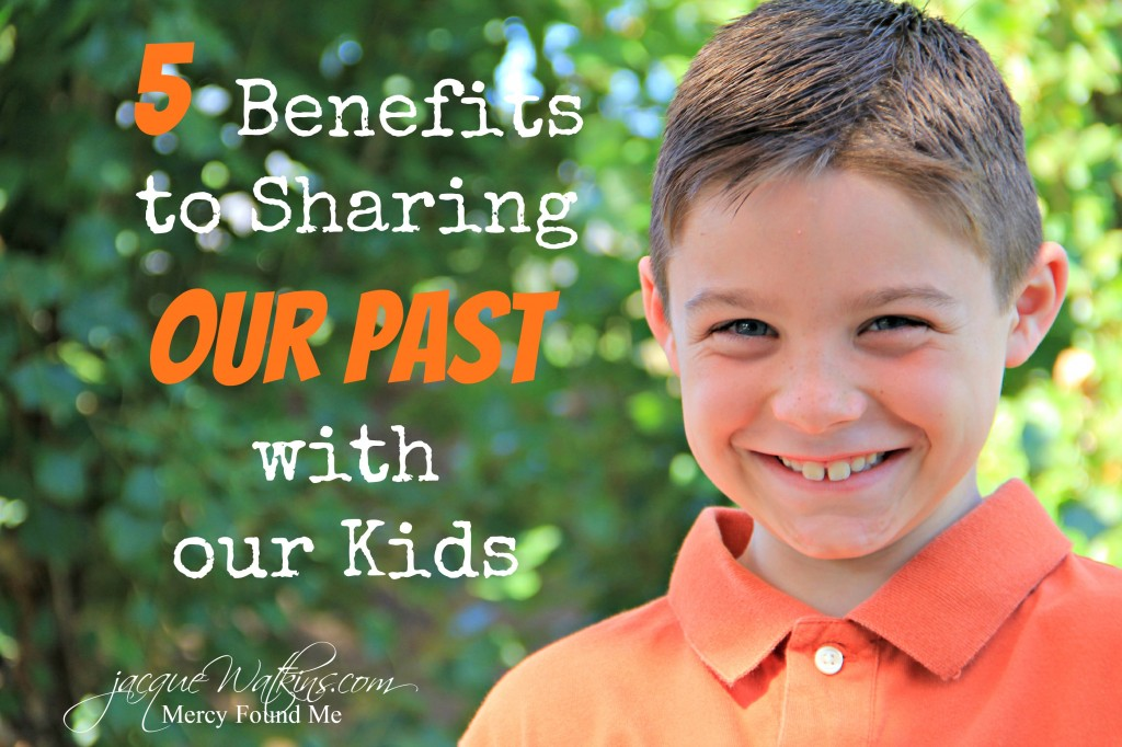 5 Benefits to Sharing our Past Failure with our kids