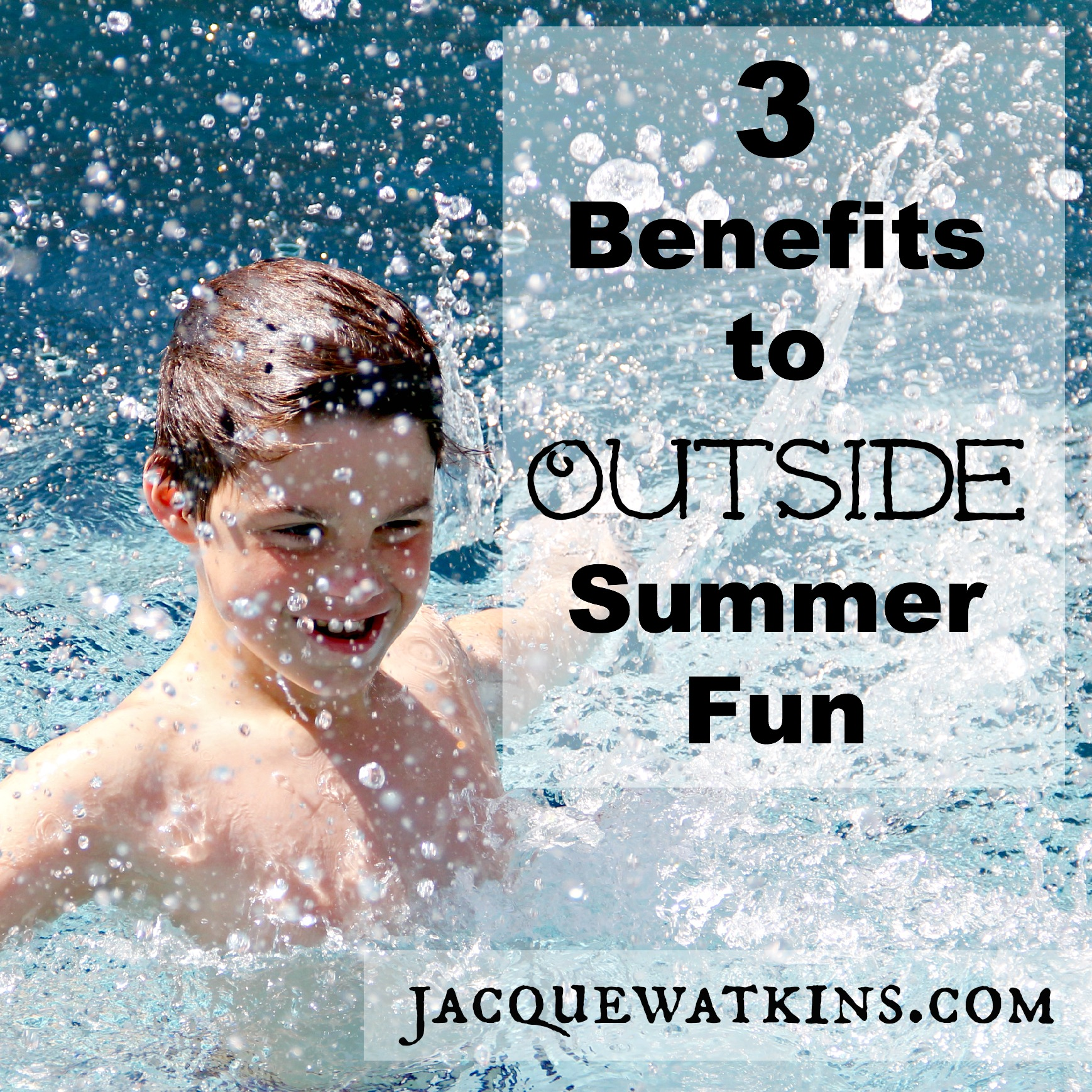 Benefits to Being Outside This Summer {MOB Society}