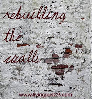rebuilding the walls logo