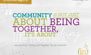 (in)couragers Community Groups for YOU! {Fall 2013}