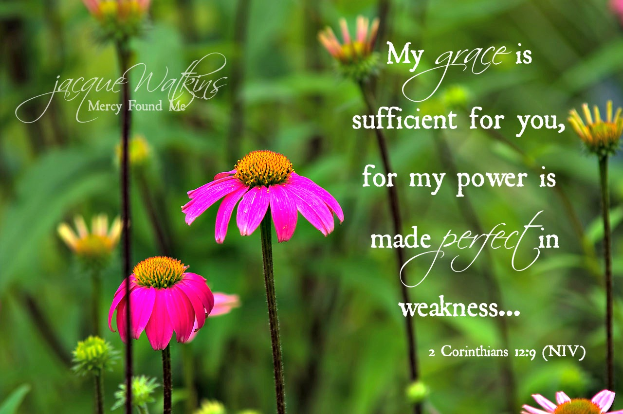 My Grace is Sufficient for You 2 Corinthians 12 9