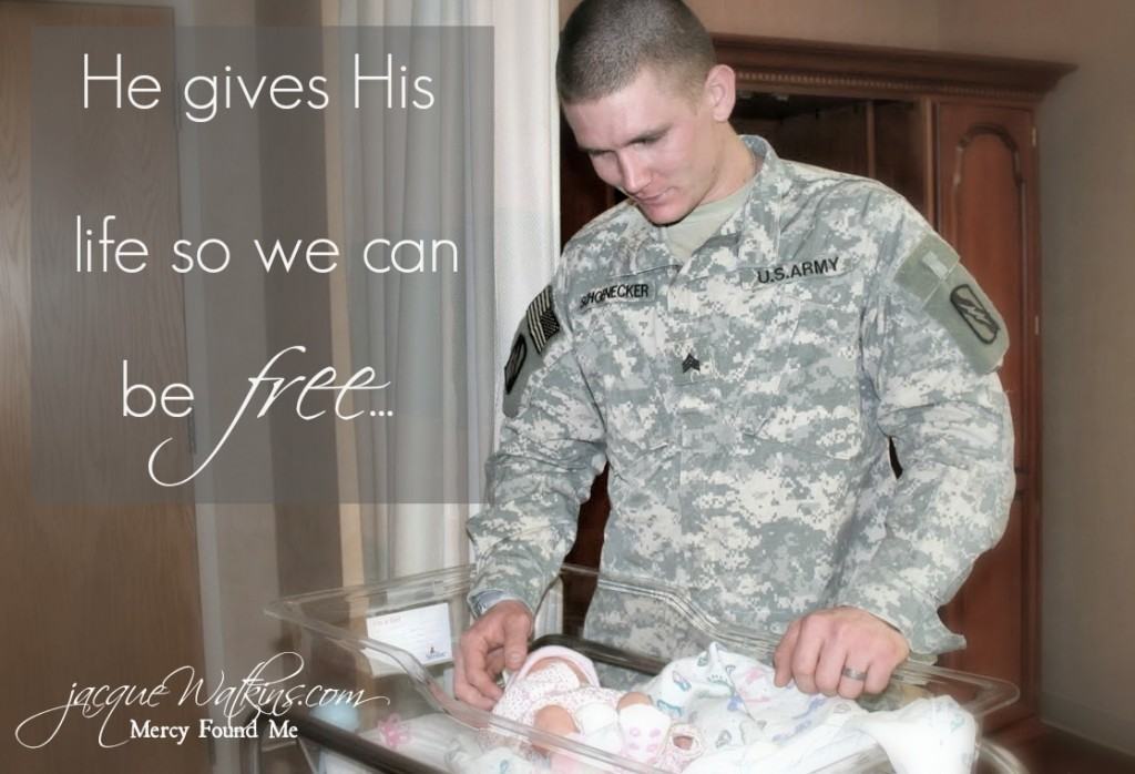 Soldier Gives His Life So We Can Be Free