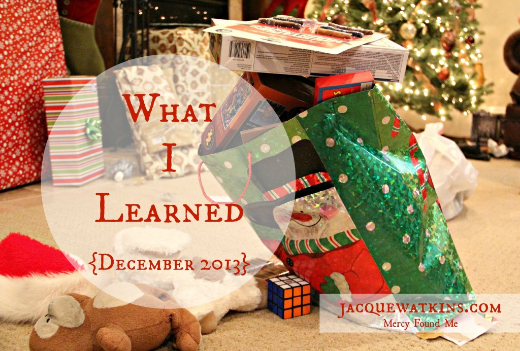 What I Learned December 2013 IMG_9431b