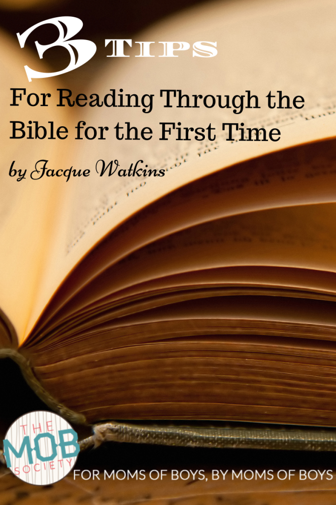 3 Tips to Read Through the Bible for the First Time
