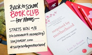 For When You're Surprised by Motherhood {Book Club with Lisa-Jo Baker}