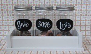 My Little Money Jars Courtney DeFeo