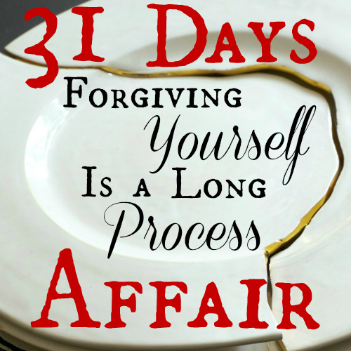 Forgiving Yourself Is a Long Process