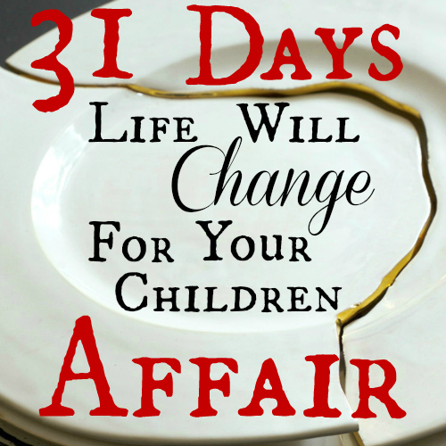 Life Will Change For Your Children