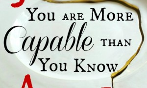 Day 12: You Are More Capable Than You Know