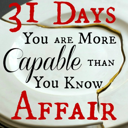 You Are More Capable Than You Know