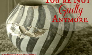 Day 18: {Scripture and Song} You're Not Guilty Anymore