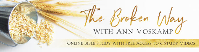 Sign up for FREE Online Bible Study of The Broken Way