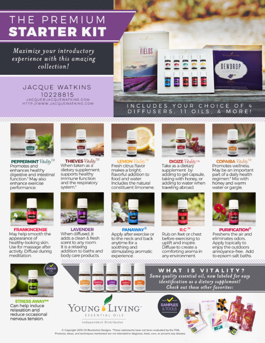 Young Living - the premium starter kit